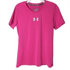 Girls Youth Under Armour Heat Gear Shirt